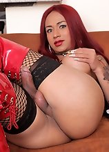 Young redhead Alexandra Montenegro makes her debut in this steamy scene with who else but Ramon. Ramon is that dude when it comes to slanging dick on