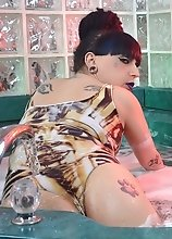 Jacuzzi jezebel Kelly is one horny Tgirl mermaid and she wants to dive into you cock and fuck it like a champ